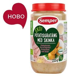 Semper ЕКО Картофен огретен с шунка - 235 г