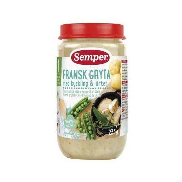 Semper Френска яхния с пиле и билки - 1 година