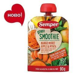 Семпер / Semper Зелено смути с манго, морков, ябълка и мента 6м-90гр