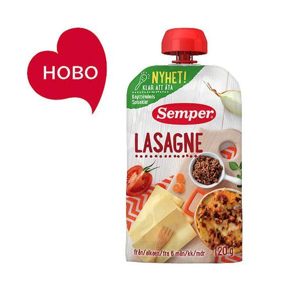 Семпер / Semper   Лазаня - готова за ядене 6м-120гр