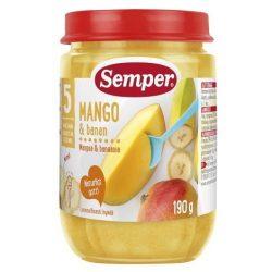 Semper Манго с банан - 190 г 5 месеца