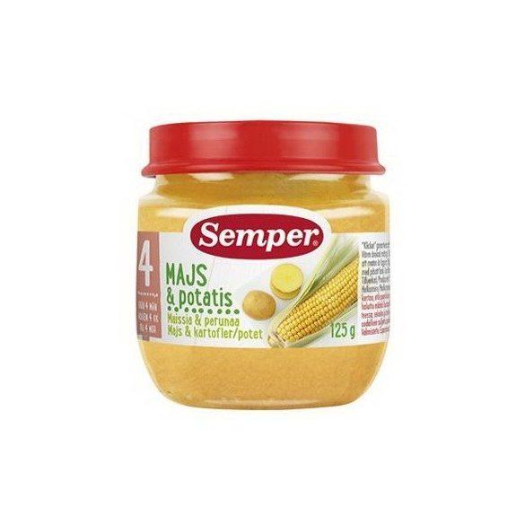 Semper Царевица с картофи - 125 г