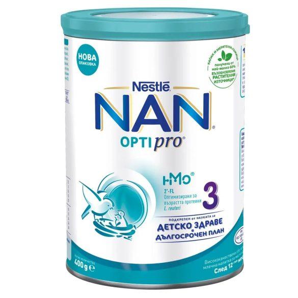 Nestlé NAN OPTIPRO 3 млечна напитка за малки деца над 12- 400гр