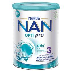 Nestlé NAN OPTIPRO 3 млечна напитка за малки деца над 12- 800гр