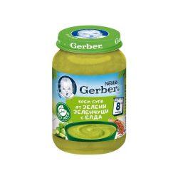 GERBER Крем супа от зелени зеленчуци с елда