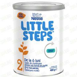 Nestle Little Steps  Адаптирано мляко 400 g /6м