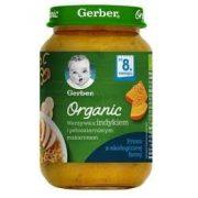 GERBER - Гербер Пюре Organic Зел. с пуешко месо и пълнозърнеста паста- 190g