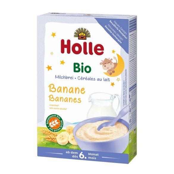 Holle Био Бебешка каша с мляко и банани 250 г - след 6-тия месец
