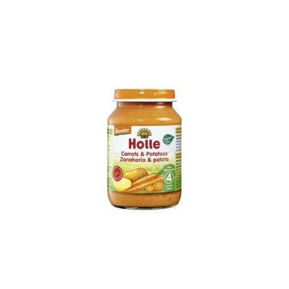 Holle Био пюре Моркови и картофи