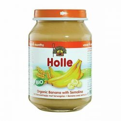 Holle Био плодов десерт  - Банани с грис 190 g