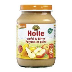 Holle Плодово пюре ябълки и круши