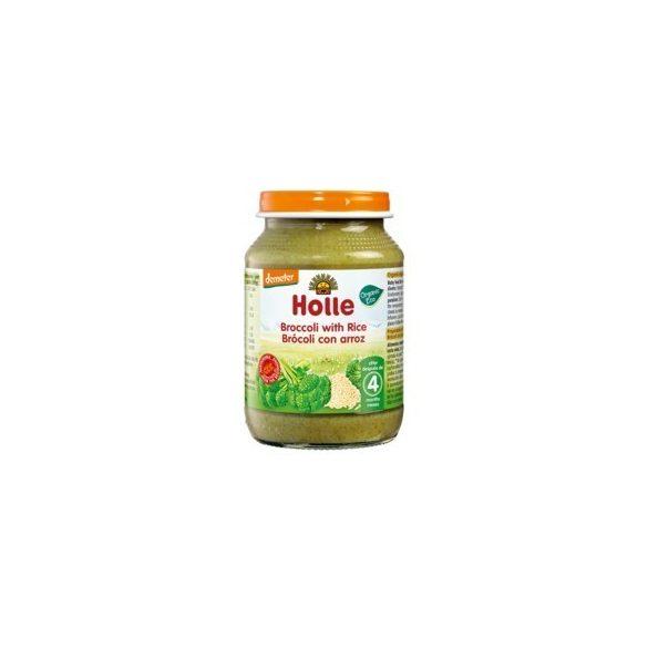 Holle Био Броколи и ориз