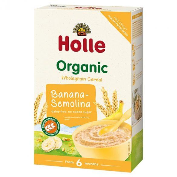 Holle Био плодова каша грис и банан 6+