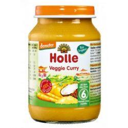 Holle Био пюре зеленчуково къри 6м.