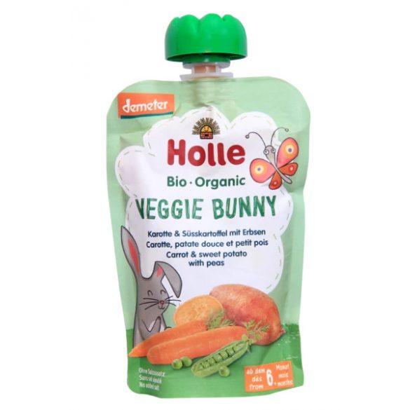 Holle -  морков, сладък картоф и грах