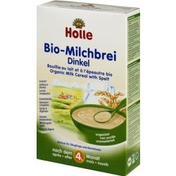 Holle Био Каша с мляко и спелта 250 г - след 4-тия месец