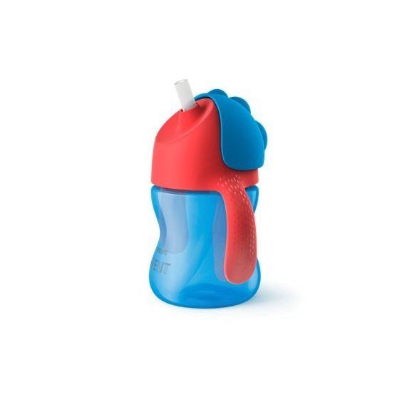 Avent Чаши със сламка 200мл / Избери цвят /