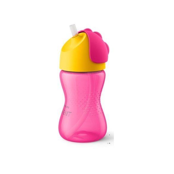 Avent Чаша със сламка 300мл /Избери цвят /