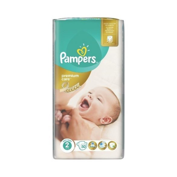 PAMPERS PREMIUM CARE 2 (3-6кг.) 50 броя