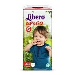Libero / Либеро UP&GO 5 ГАЩИ (10-14 КГ) 40 БР