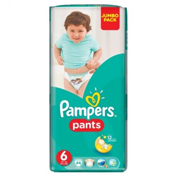 Pampers Памперс гащи Джъмбо-6 /16+кг/ 44 бр