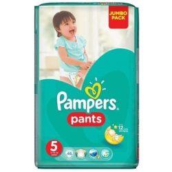 Pampers Памперс гащи Джъмбо-5 /12-18кг/ 48 бр.