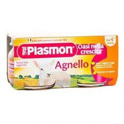 Plasmon Пюре от Агнешко месо 2х80г