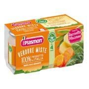 Плазмон/Plasmon  смесени зеленчуци  80g /4м