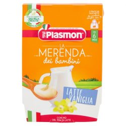 Плазмон  Млечен десерт ванилия 2х120гр