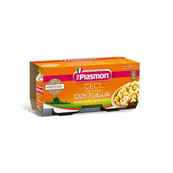 Плазмон / Plasmon Нахут и тиква  / 2 х 80гр/8м