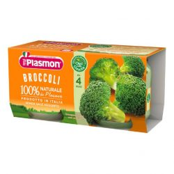 Плазмон/Plasmon Броколи 6м. 2х80г