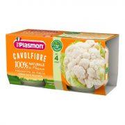 Плазмон / Plasmon Карфиол / 2 х 80гр/4м
