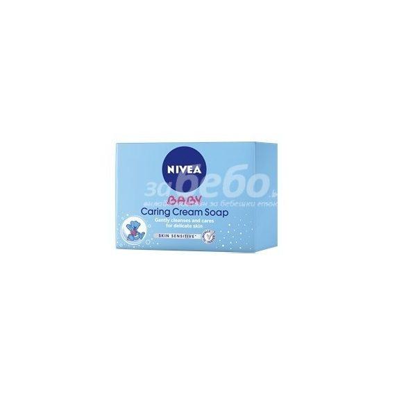 NIVEA Нежен подхранващ крем сапун