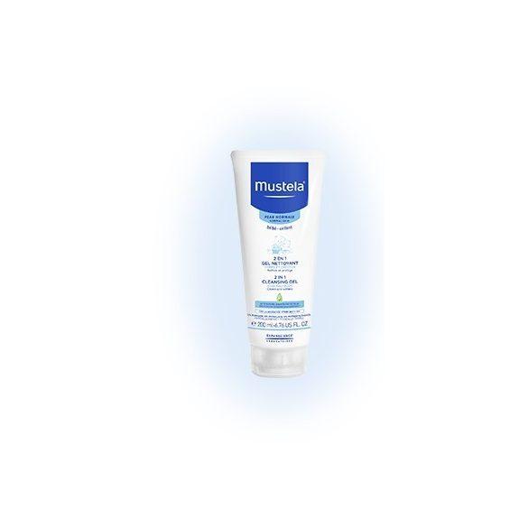 Mustela Измиващ гел-шампоан за коса и тяло 2в1