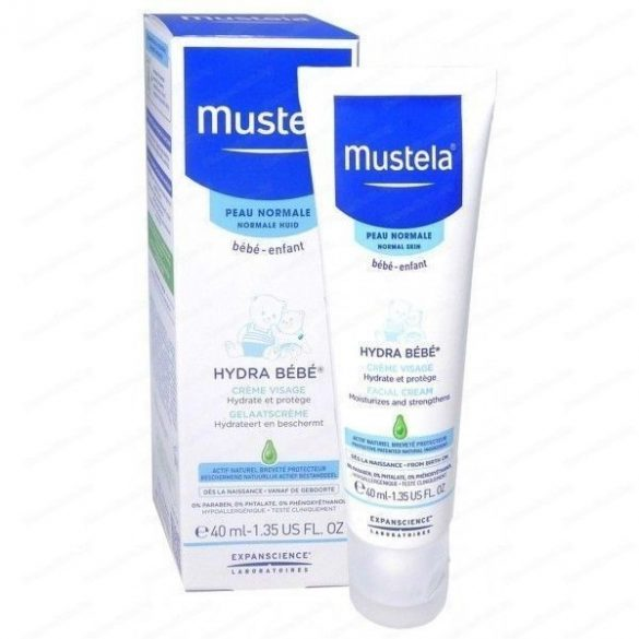 Mustela Hydra Bébé - Крем за лице