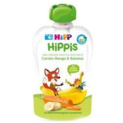 HIPP Био Плодова закуска морков,манго,банан