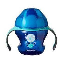 Неразливаща се чаша с мек накрайник Tommee Tippee  4м+ 150мл. Синя