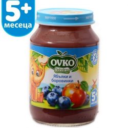 Ovko Ябълки и боровинки