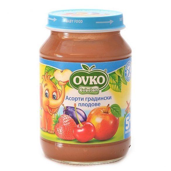 Ovko Асорти Градински плодове от 5-ия месец 190 гр.