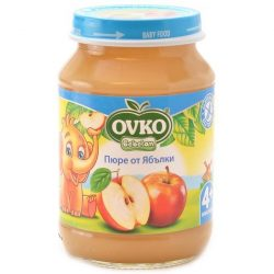 Ovko Ябълки без добавена захар от 4-ия месец 190 гр.