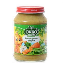 Ovko Зеленчуково пюре Асорти 5+ 190 гр.