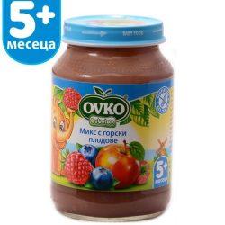 Ovko Микс с горски плодове от 5-ия месец 190 гр.