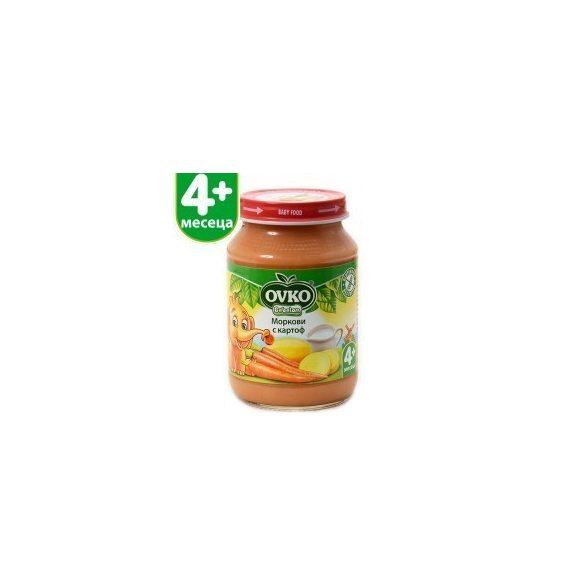 Оvko Морков и картоф от 4-ия месец 190 гр.