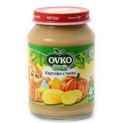 Оvko Картофи с тиква от 4-ия месец 190 гр.