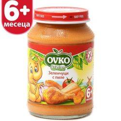 Оvko Зеленчуци с пиле 190 гр.