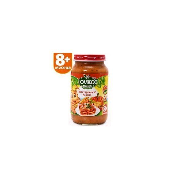 Оvko Вегетарианска лазаня от 8-ия месец 220 гр.
