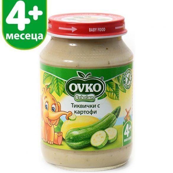 Оvko Тиквички и картофи 190 гр.