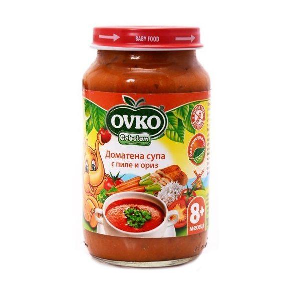 Оvko Доматена супа с пиле и ориз 220 гр.