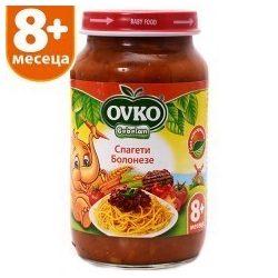 Оvko Спагети Болонезе от 8-ия месец 220 гр.