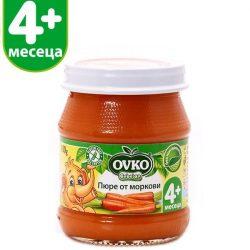 Оvko Моркови пюре от 4-ия месец 100 гр.